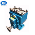 Self-priming dump tank truck pump